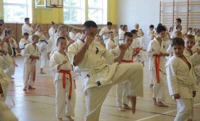 Karatecy podsumowali rok szkoleniowy 2017/2018 oraz zaliczyli egzamin na wyższe stopnie