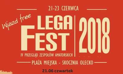 IV Przegląd Zespołów Amatorskich LegaFest Olecko 2018