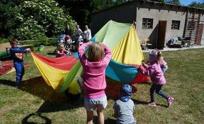 W Szkole Podstawowej w Cichym rodzinnie świętowano Dzień Dziecka