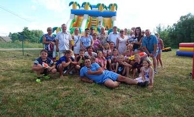 Festyn rodzinny z okazji Dnia Dziecka w Zakrzewcu