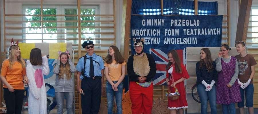 Występy uczniów były bardzo ciekawe i inspirujące