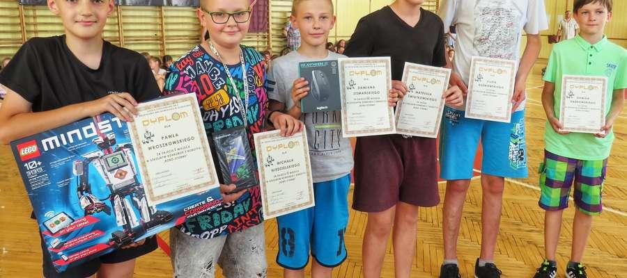 Nagradzani zwycięzcy konkursu