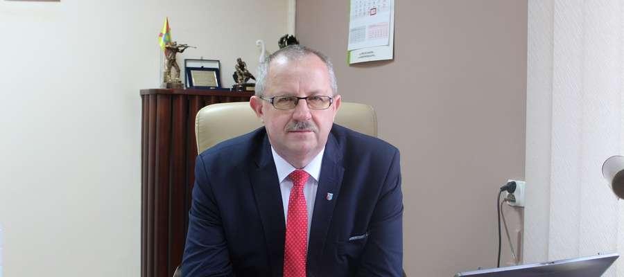 Starosta Jerzy Rzymowski zachęca do składania wniosków.