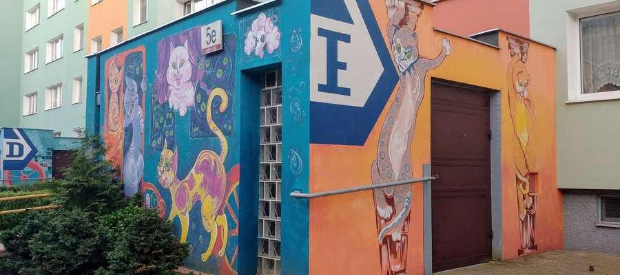 Murale na Zaspie czynią z pozornie szarego blokowiska jedną z najciekawszych przestrzeni w mieście