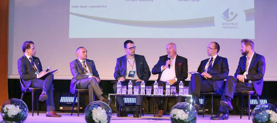 II Warmińsko-Mazurski Kongres Przyszłości - Panel gospodarczy Przemysł 4.0