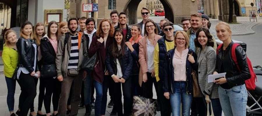 Uczniowie w czasie wolnym zwiedzali Monachium