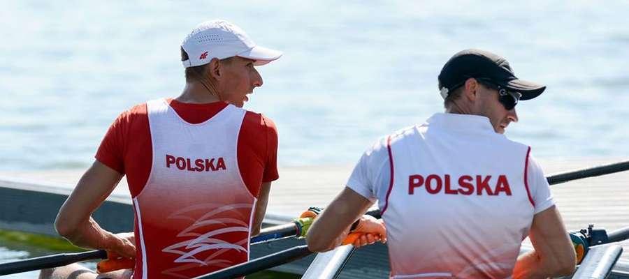 Miłosz Jankowski (z lewej) i Jerzy Kowalski - najlepsza w Polsce męska dwójka podwójna wagi lekkiej bardzo dobrze reprezentuje nas na zawodach Pucharu Świata