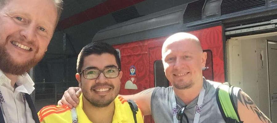 Kibice z Polski i Kolumbii już zwiedzają Kazań w oczekiwaniu na wieczorny mecz