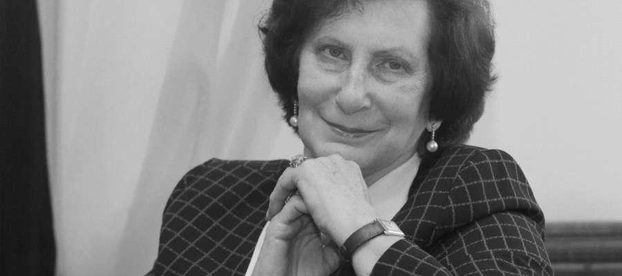 Irena Szewińska podczas październikowej wizyty w Olsztynie