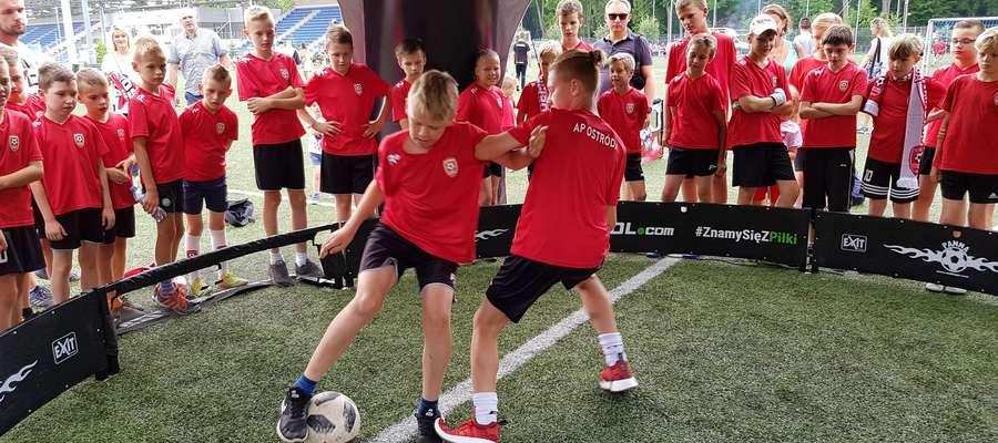 Na podsumowaniu sezonu AP Ostróda były gry, zabawy, grill i prezenty