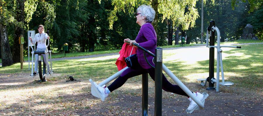 Dzięki wnioskom złożonym do budżetu obywatelskiego powstała m.in. siłownia w Parku Modrzewie
