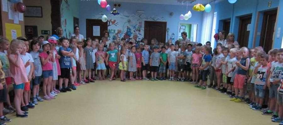Przedszkolakom złożono życzenia z okazji Dnia Dziecka