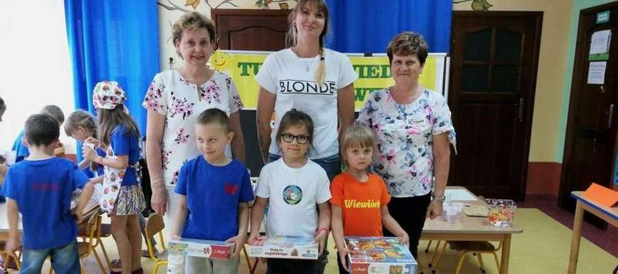 Wszystkie grupy otrzymały w nagrodę puzzle