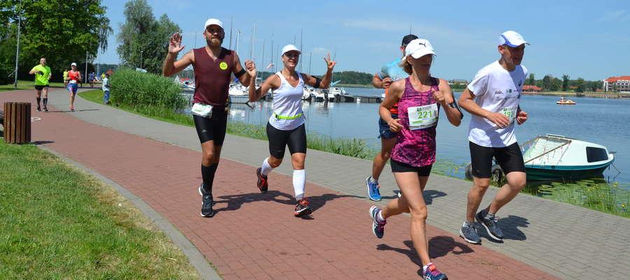7. edycję Ostródzkiego Półmaratonu ukończyło 350 biegaczy