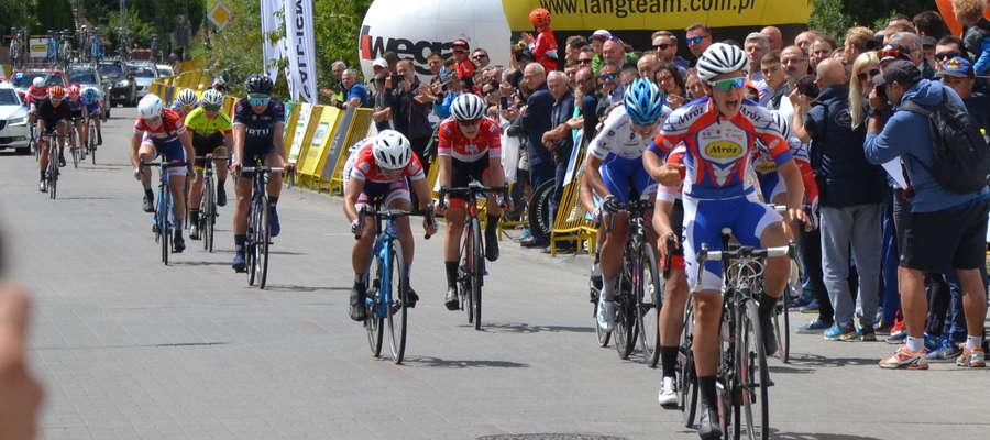 Przez trzy dni w mieście i gminie Ostróda oraz w Grunwaldzie rywalizowali najlepsi polscy kolarze