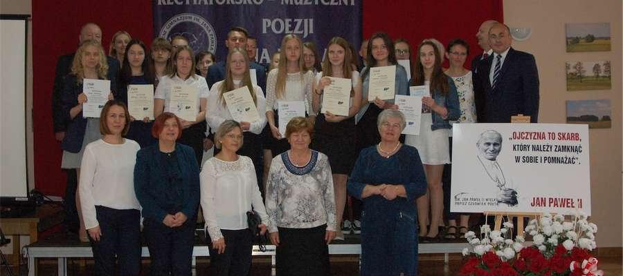 W Wieliczkach recytowali wiersze św. Jana Pawła II