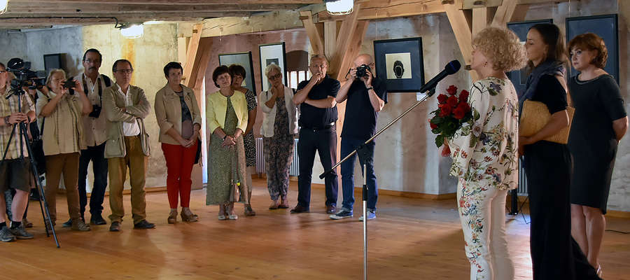Fot. Wystawę fotografii Zdzisława Beksińskiego można oglądać w zamku do 7 października