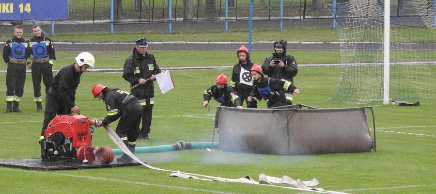Zawody pożarnicze nie po raz pierwszy zagoszczą na stadionie miejskim w Iławie