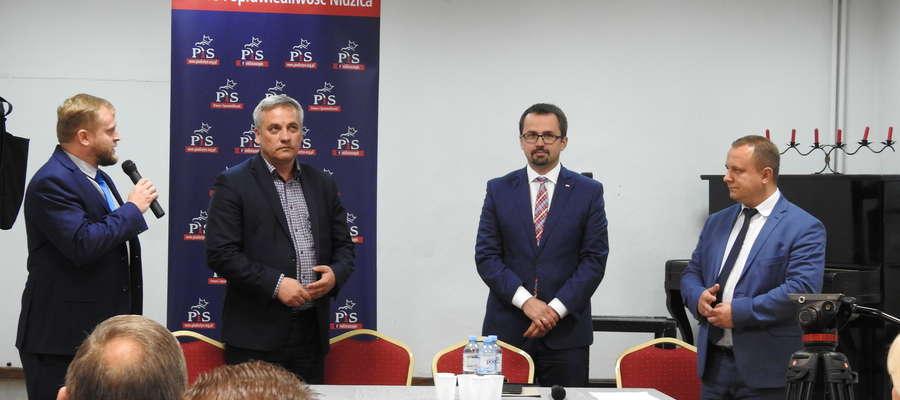 PIS oficjalnie przedstawił swojego kandydata na burmistrza Nidzicy