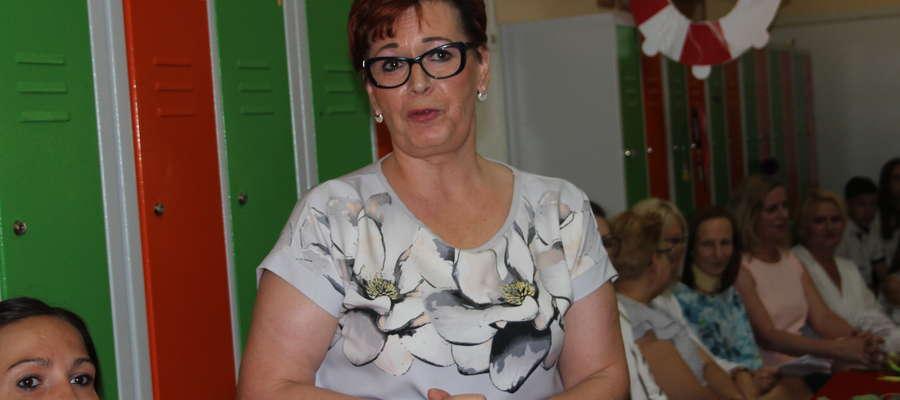 Beata Słomczewska nie kryła wzruszenia podczas zakończenia roku.