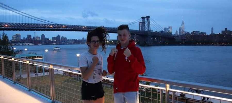 Natalia Stachowicz i Jakub Żegunia czekają w Nowym Jorku na pierwsze turniejowe walki