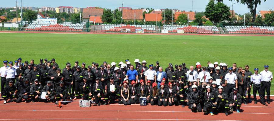 W sobotę 16 czerwca odbyły się zawody sportowo–pożarnicze strażaków ochotników powiatu lidzbarskiego