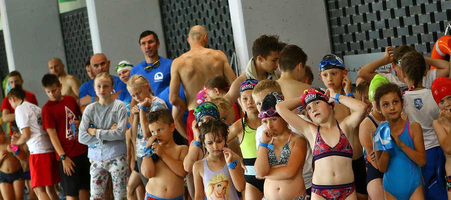 I Mistrzostwa w pływaniu o puchar Term Warmińskich.
