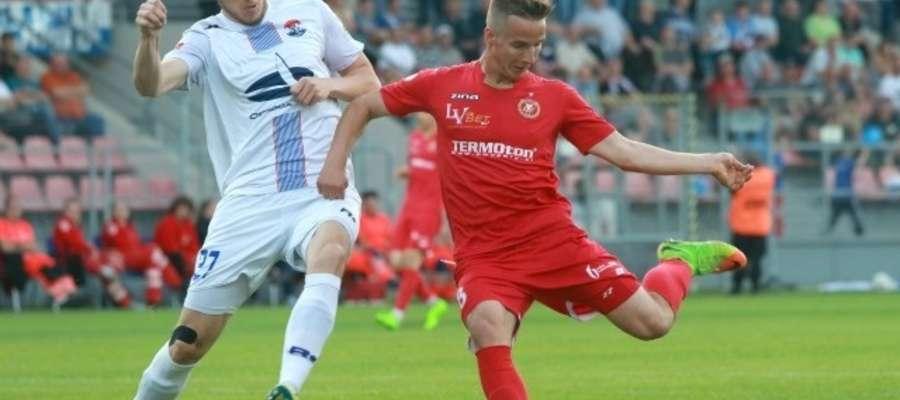 Przed rokiem w Ostródzie mecz Sokoła z Widzewem zakończył się remisem 2:2