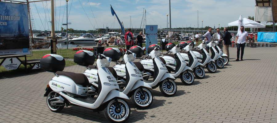 Elektryczne skutery w Giżycku