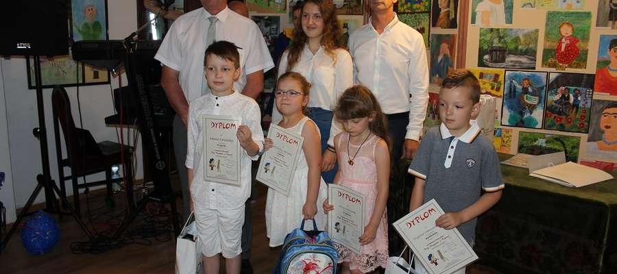 Najmłodsi laureaci konkursu odebrali nagrody