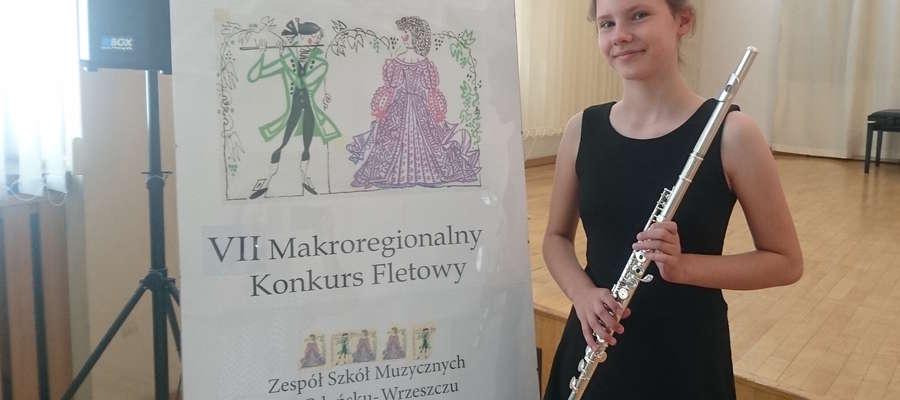 Flecistka Maja Klimaszewska