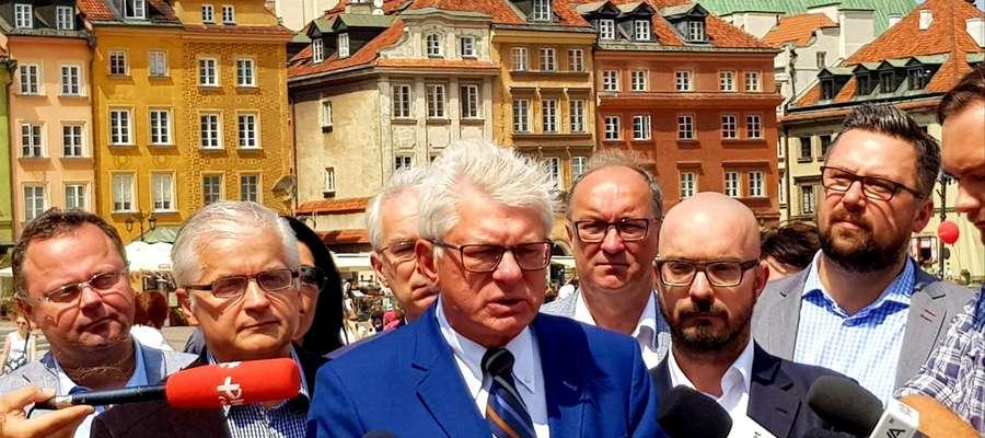 Andrzej Celiński, kandydat na prezydenta Warszawy
