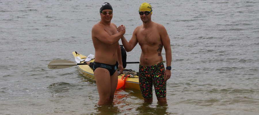 Krzysztof Gajewski i Łukasz Martynowski