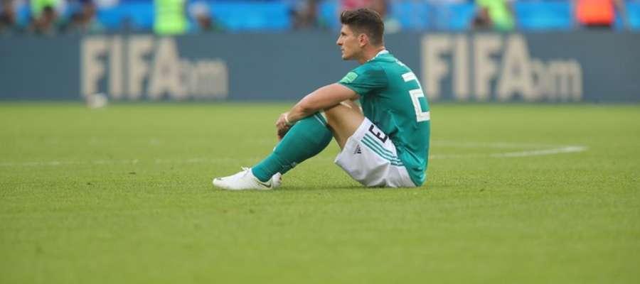 Załamany Mario Gomez po meczu z Koreą Południową