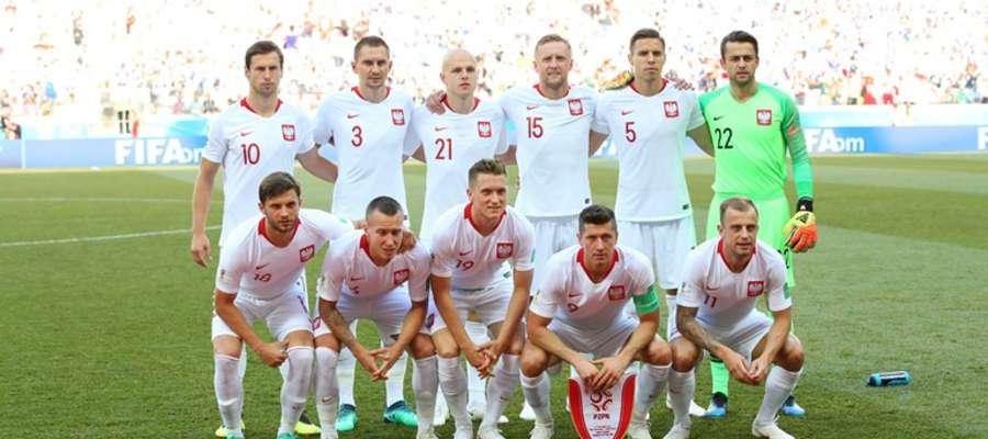 Polscy piłkarze przed meczem z Japonią