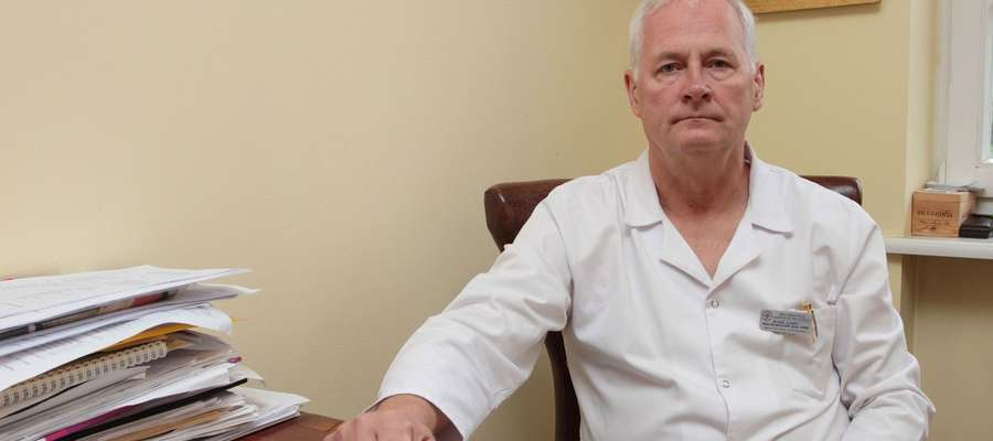 O nowej poradni mówi dr hab. Maciej Michalik, prof. UWM, koordynator Kliniki Chirurgii Ogólnej, Małoinwazyjnej i Wieku Podeszłego Miejskiego Szpitala Zespolonego w Olsztynie.