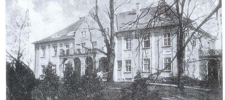 Pałac w Śliwicy zbudowany ok. 1910, spalony pod koniec stycznia 1945 roku