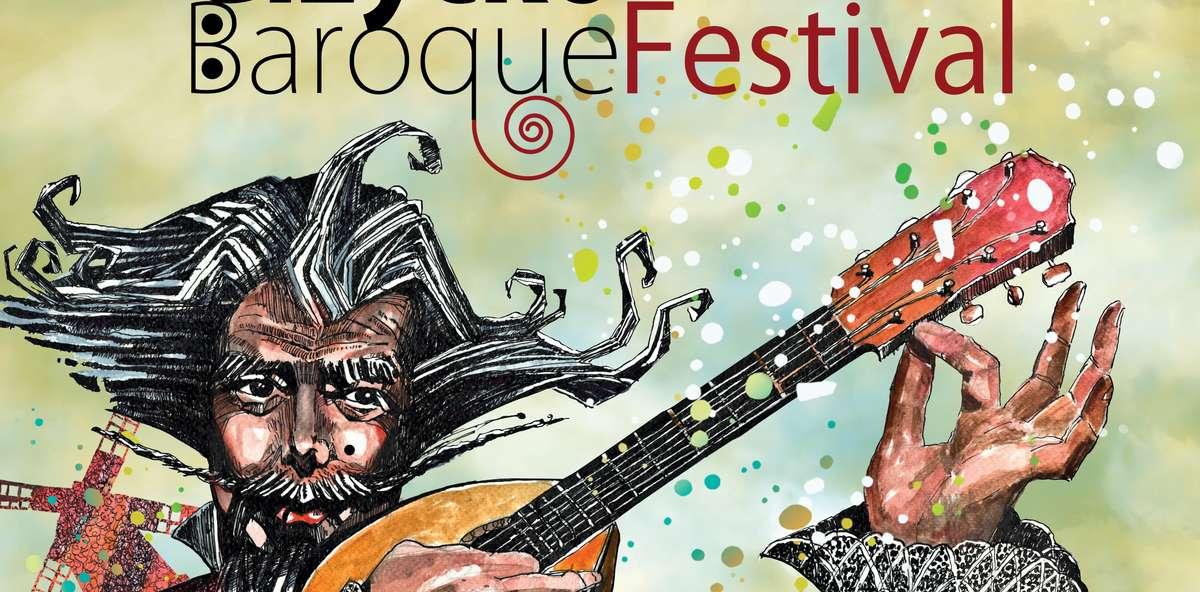 Fragment plakatu promującego festiwal - full image