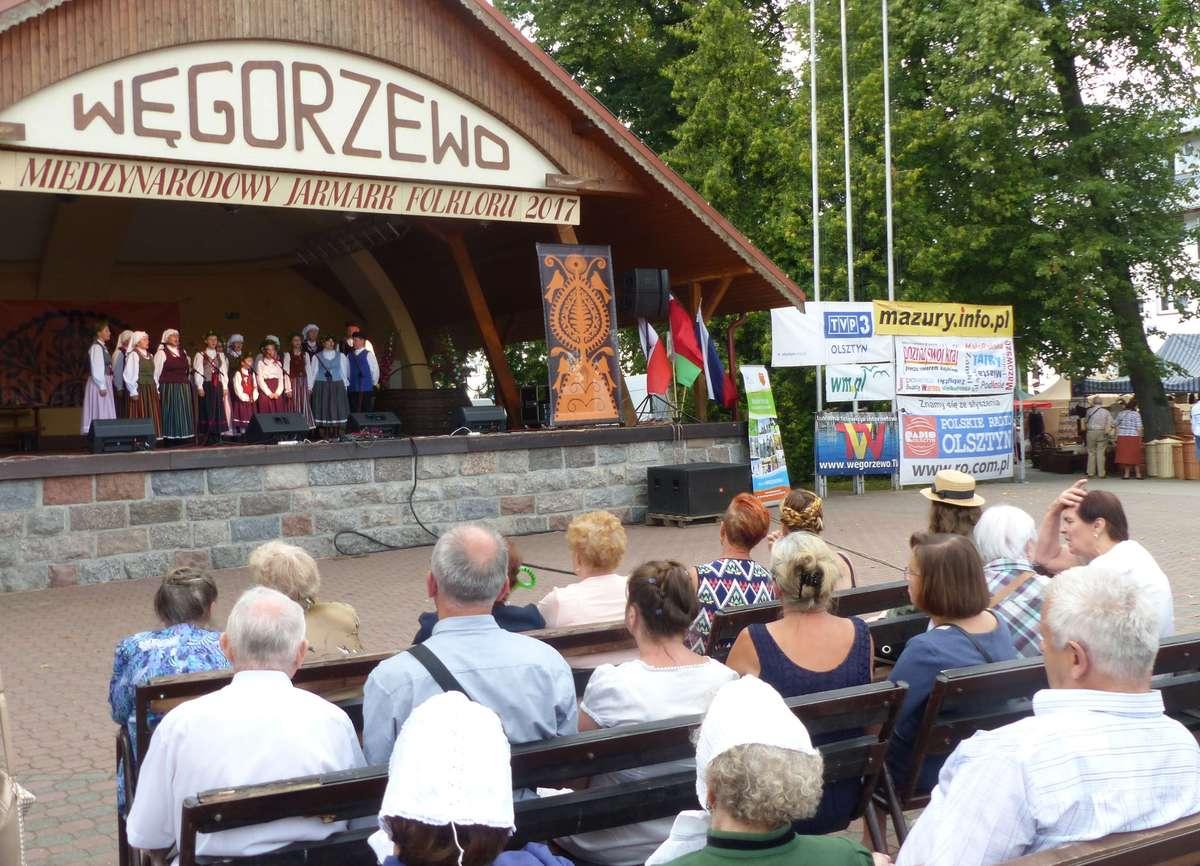 Międzynarodowy Jarmark Folkloru w Węgorzewie - full image