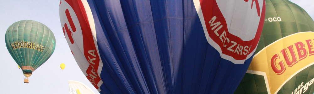 Na ełckim niebie znów kolorowo. Balony wzbiły się w powietrze!