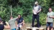 Lidzbarczanie z Warmiaka strzelali na zawodach w Rynie