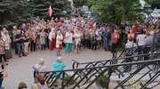 Kolejna manifestacja przed Sądem Rejonowym w Olsztynie [ZDJĘCIA]