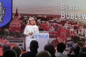 Beata Bublewicz oficjalną kandydatką Koalicji Obywatelskiej na prezydenta Olsztyna [ZDJĘCIA, VIDEO]