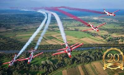 Mazury AirShow 2018. Podniebne akrobacje po raz kolejny nad Niegocinem!