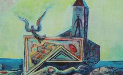 Zygfryd Komorowski wraca do Spytkowa ze swoimi obrazami