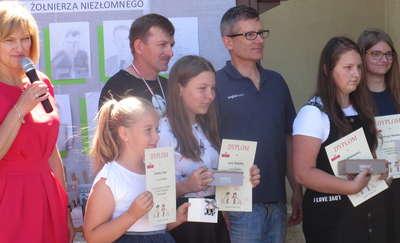 Uroczystość  w Szkole Podstawowej w Zajączkowie
