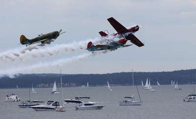 Mazury AirShow, czyli akrobacje nad Niegocinem