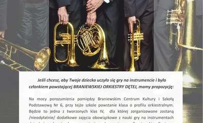 W Braniewie powstanie Klasa Orkiestralna