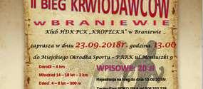 II. Bieg Krwiodawców w Braniewie