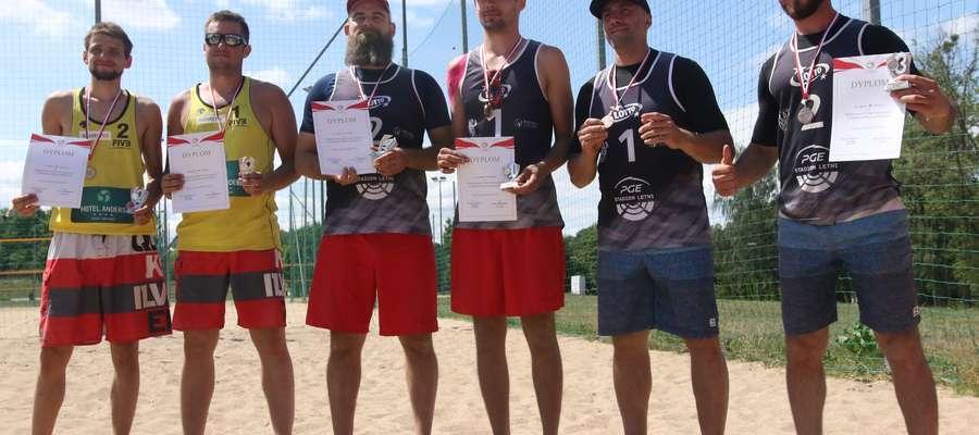 Medaliści MP niesłyszących w siatkówce plażowej